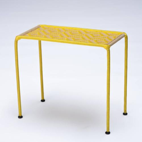 Table d'appoint CALAO jaune