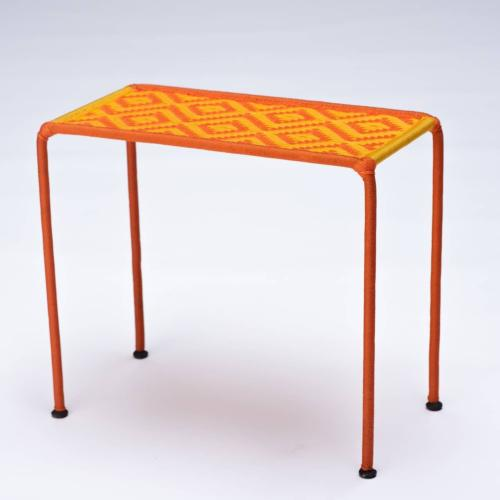 Table d'appoint CALAO orange